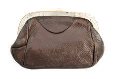 Old purse Stock Images