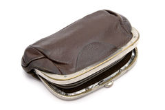 Old purse Royalty Free Stock Photography