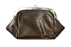 Old purse closeup Stock Photography