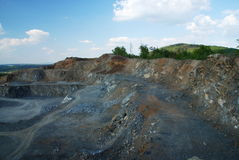 Old Quarry Royalty Free Stock Image