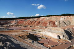 Old Quarry Royalty Free Stock Images