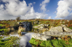 Old Quarry Workings on Bodmin Moor Royalty Free Stock Photos