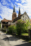 The old quarter in the Austrian town of Bregenz Royalty Free Stock Photos