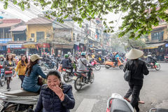 Old Quarter of Hanoi Royalty Free Stock Images