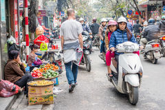 Old Quarter of Hanoi Stock Image