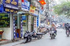 Old Quarter of Hanoi Royalty Free Stock Photo