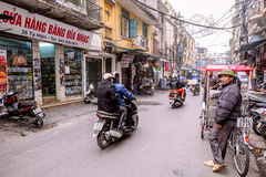Old Quarter of Hanoi Stock Photography
