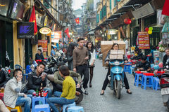 Old Quarter of Hanoi Stock Images