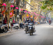 Old Quarter, 36 Streets, Hanoi, Vietnam Royalty Free Stock Images