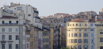 Old quarters of Marseille Stock Photos