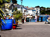 Old Quay, Fowey, Cornwall. Stock Photo