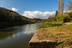 Old Quay on River Wye Stock Photography