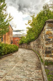Old Quebec alley Stock Images