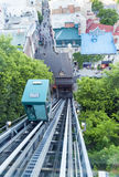 Old Quebec Funicular Stock Photo