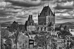 Old Quebec HDR Stock Image