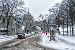 Old Quebec Royalty Free Stock Image