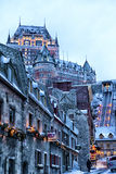 Old Quebec City Stock Image