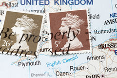 Old Queen Postage Stamp Royalty Free Stock Photography