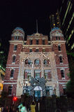 Old Queen Victoria Hospital in Melbourne during White Night Royalty Free Stock Photography