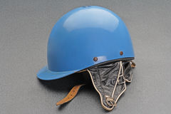 Old racing car crash helmet Royalty Free Stock Images