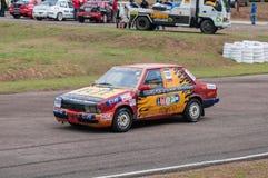 Old racing car Stock Photo