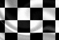 Old racing flag Royalty Free Stock Photography