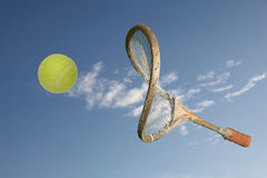 Old racket stock photo