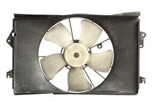 Radiator cooler fan Stock Image