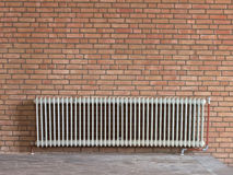 Old radiator heating Stock Images