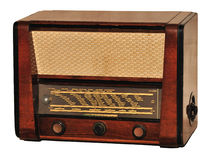 Old radio Royalty Free Stock Images