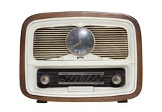 Old radio_12 Stock Image