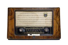 Old radio_15 Royalty Free Stock Photos