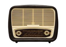 Old radio_3 Stock Image