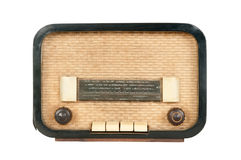Old radio (50`s style) Stock Images