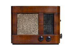 Old radio_6 Royalty Free Stock Image