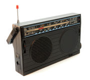 Old radio. A retro radio set, 20 or 30 years old Royalty Free Stock Photos