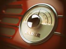 Old  radio background. Vintage style. Royalty Free Stock Image