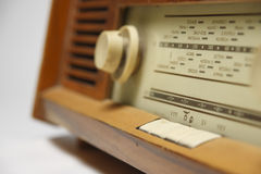 Old radio blured Royalty Free Stock Images