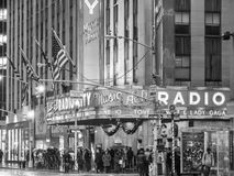 The old Radio City Music Hall Stock Images