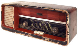 Old Radio Cutout Stock Images