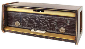 Old Radio Cutout Royalty Free Stock Photography