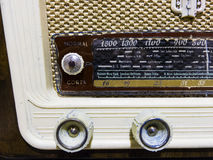 Old radio from 1950 Royalty Free Stock Photo