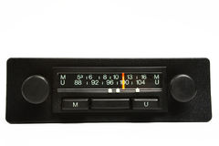 Old Radio - Front Panel Stock Image