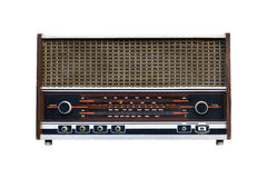 Old radio isolated1 Stock Photography
