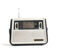 Old radio receiver. Present you hobby musical part Stock Photography