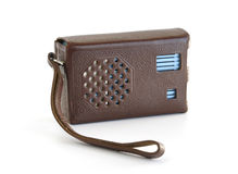 Old radio receiver. Stock Photo