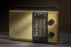 Old radio receiver Stock Photos