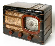 Old radio receiver Royalty Free Stock Images