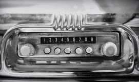Old radio. Royalty Free Stock Images