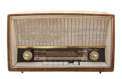 Old radio set Royalty Free Stock Photos